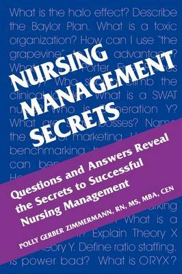 Nursing Management Secrets by Polly Gerber Zimmermann image