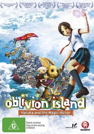Oblivion Island: Haruka and the Magic Mirror on DVD