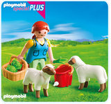 Playmobil - Country Woman with Sheep Feed (4765)