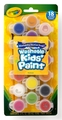 Crayola: 18 Kids Poster Paints with Brush