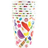Dylan's Candy Bar Candy Spill Paper Cups - Set of 8
