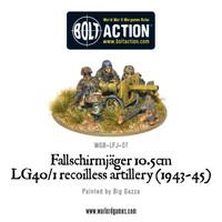 German Airborne -Fallschirmjager 10.5cm LG40/1 Recoilless Artillery