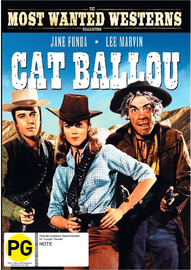 Cat Ballou on DVD