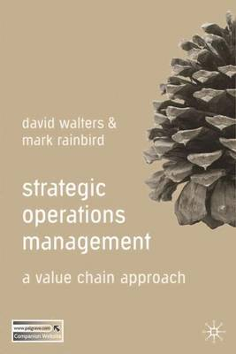 Strategic Operations Management by David Walters image