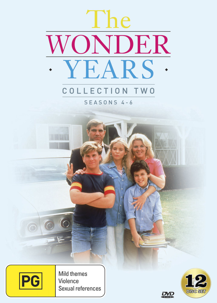 The Wonder Years - Collection Two (Season 4-6) on DVD image