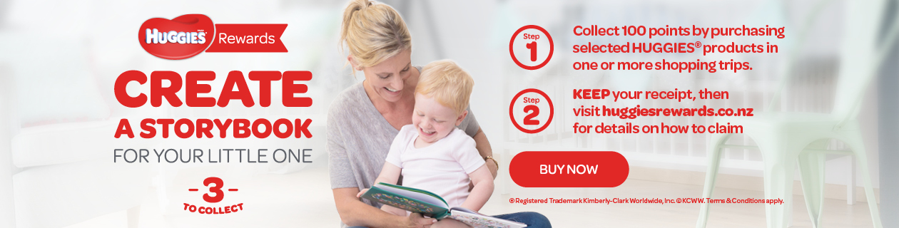 Huggies Rewards - Books