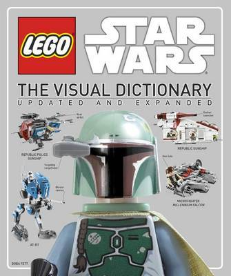 LEGO Star Wars: The Visual Dictionary (Updated and Expanded, incl Minifigure!) by Simon Beecroft