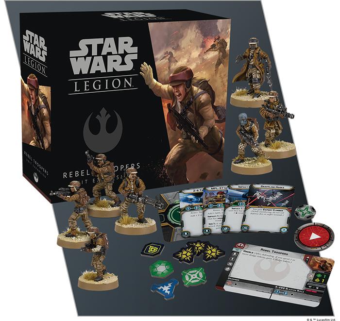 Star Wars Legion: Rebel Troopers Unit Expansion image