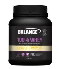Balance 100% Whey New Formula Protein Powder - Banana (750g)