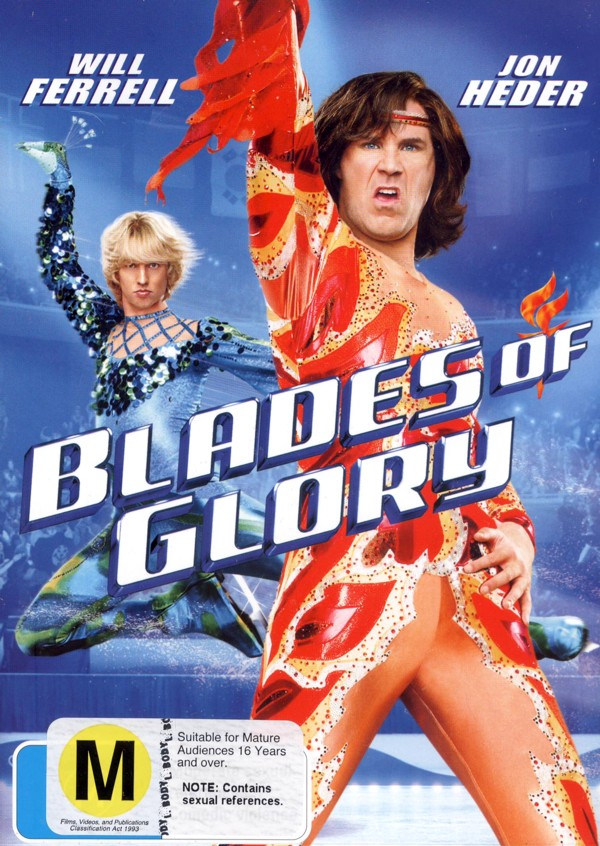 Blades of Glory on DVD image