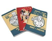 Fallout Pocket Notebook Collection (Set of 3) by Insight Editions image