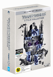 Transformers 1-5 on Blu-ray, UHD Blu-ray