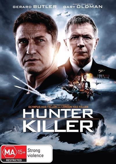 Hunter Killer on DVD image