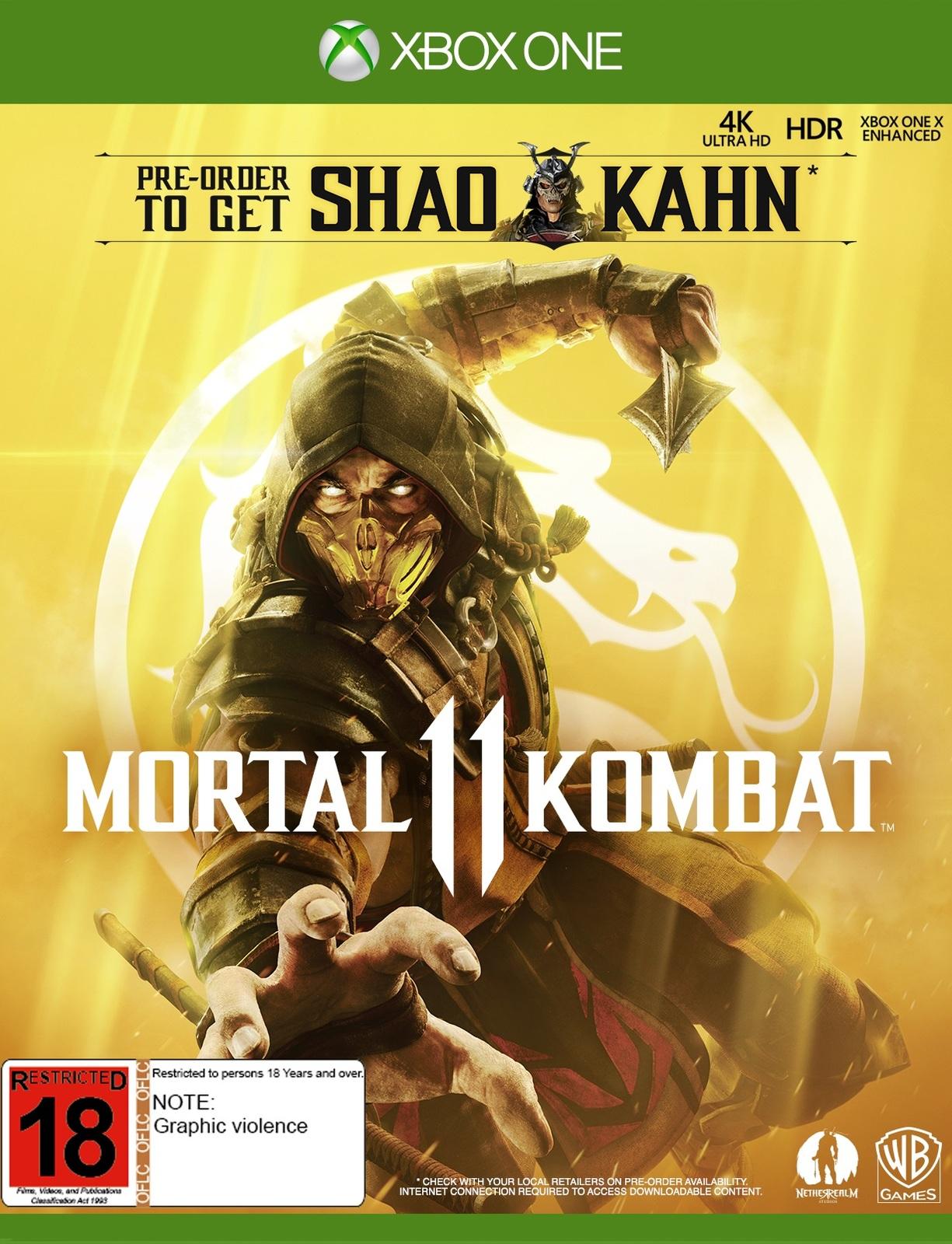 Mortal Kombat 11 for Xbox One image