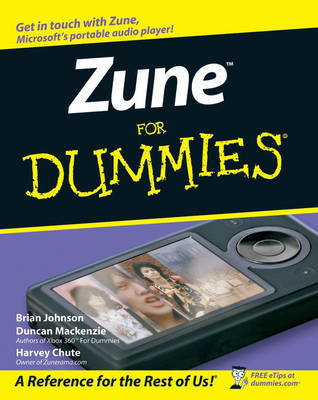 Zune For Dummies by Brian Johnson image