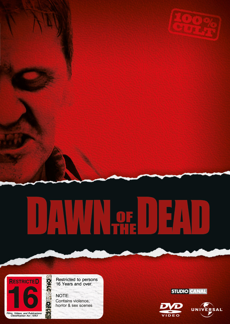 Dawn of the Dead on DVD image