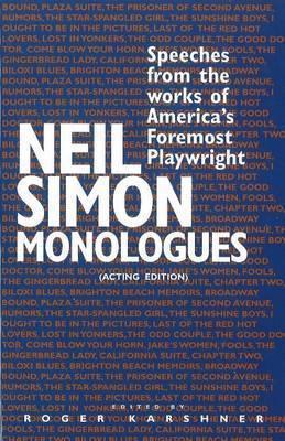 Neil Simon Monologues by Neil Simon