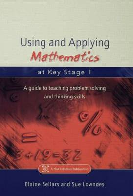 Using and Applying Mathematics at Key Stage 1 by Elaine Sellars image