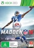 Madden NFL 16 for Xbox 360
