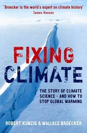 Fixing Climate by Robert Kunzig