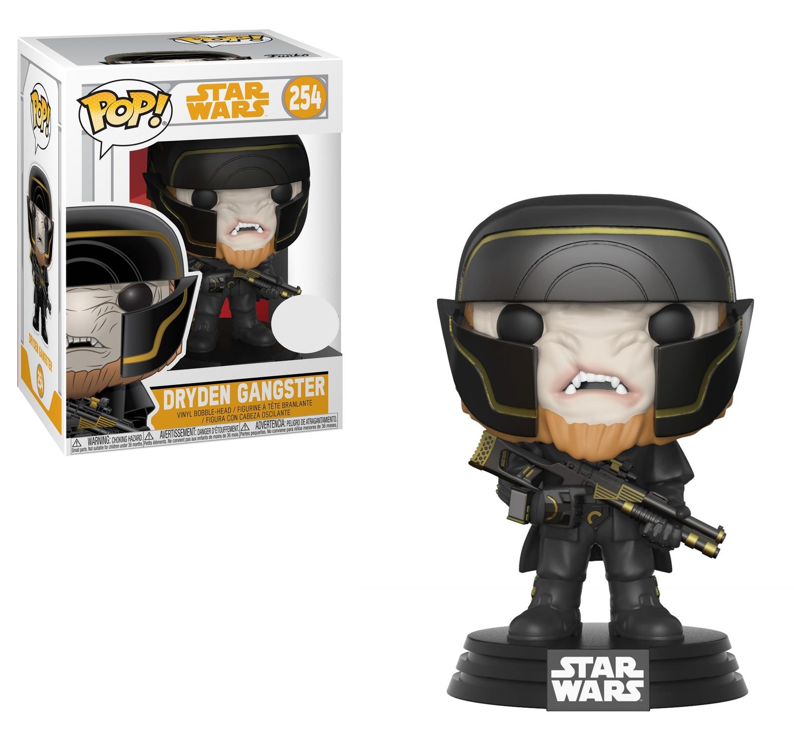 Star Wars: Solo - Dryden Gangster Pop! Vinyl Figure image