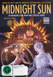 Cirque Du Soleil - Midnight Sun on DVD image