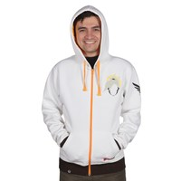 Overwatch Ultimate Mercy Zip-Up Hoodie (L)