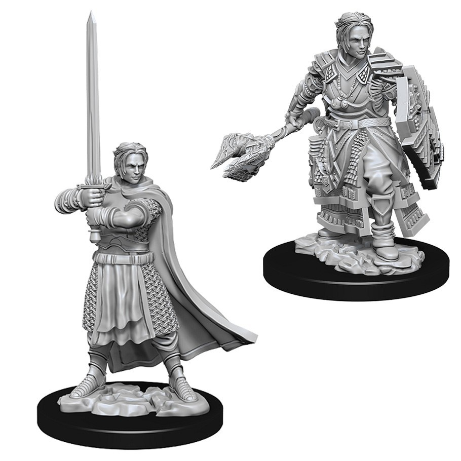 D&D Nolzur's Marvelous: Unpainted Miniatures - Male Human Cleric image