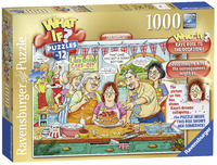 Ravensburger: 1,000 Piece Puzzle - What If? (The Cake) image