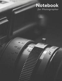 Notebook for Photographer by Notebook Fever