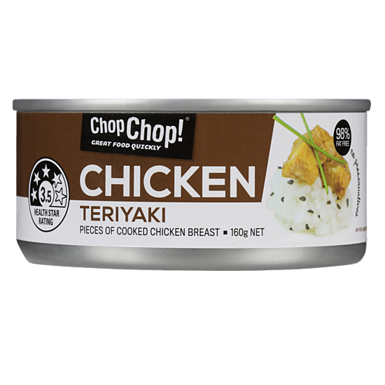 Chop Chop: Chicken Chunks - Teriyaki 160g (12 Pack) image