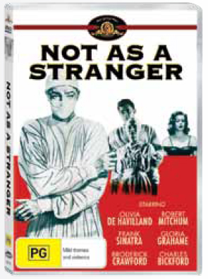 Not as a Stranger on DVD image