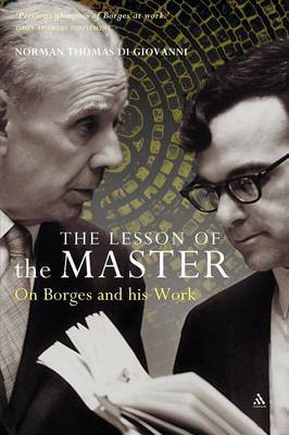 The Lesson of the Master by Norman Thomas Di Giovanni