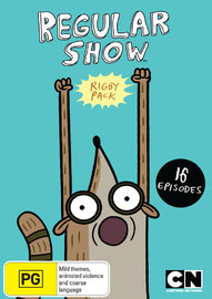 Regular Show Rigby Pack on DVD