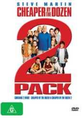 Cheaper By The Dozen 2 Pack (2 Disc) on DVD