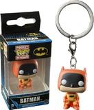 Batman: 75th Anniversary Orange Pop! Keychain