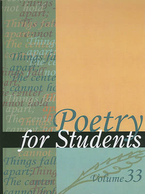 Poetry for Students, Volume 33 image
