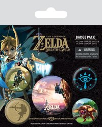 The Legend of Zelda Breath of the Wild Pin (The Climb)