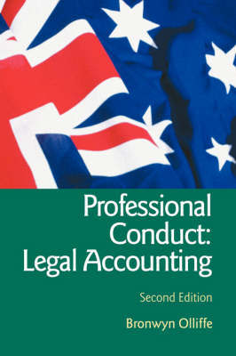 Essential Professional Conduct: Legal Accounting by Bronwyn Olliffe image