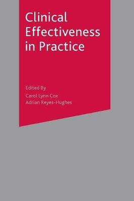 Clinical Effectiveness in Practice by Carol Cox image