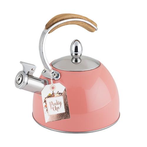Pinky Up: Presley Tea Kettle - (Peach) image