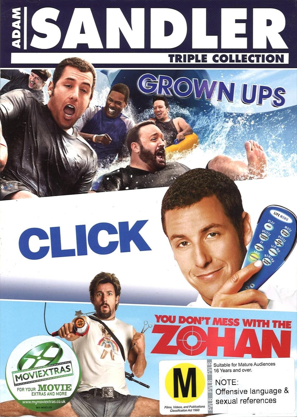 Adam Sandler Box Set on DVD image
