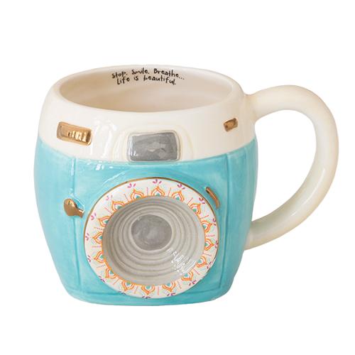 Natural Life: Folk Mug - Camera