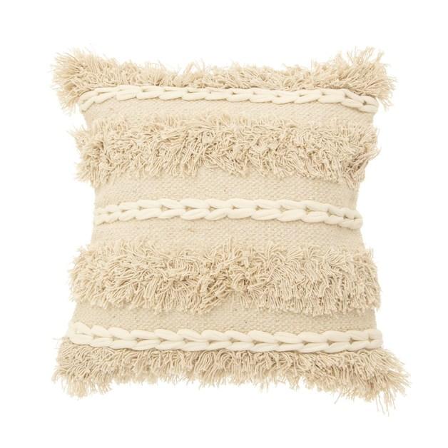 Sass & Belle: Blanca Tufted Stripe Cushion