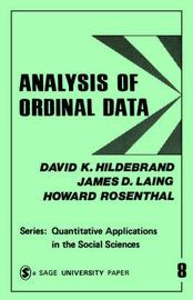 Analysis of Ordinal Data by David K Hildebrand
