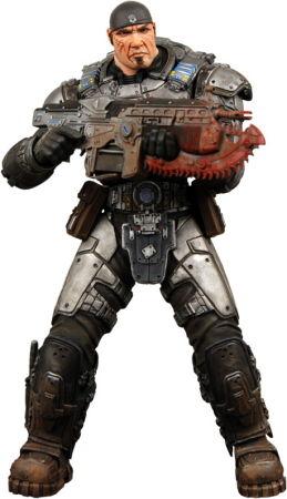 Gears of War Series 2 Action Figure - Marcus Fenix image