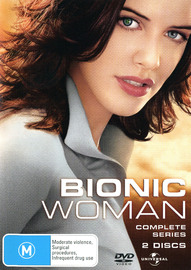 Bionic Woman - The Complete Series on DVD image