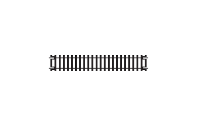 Straight Track 168mm - 00 Gauge