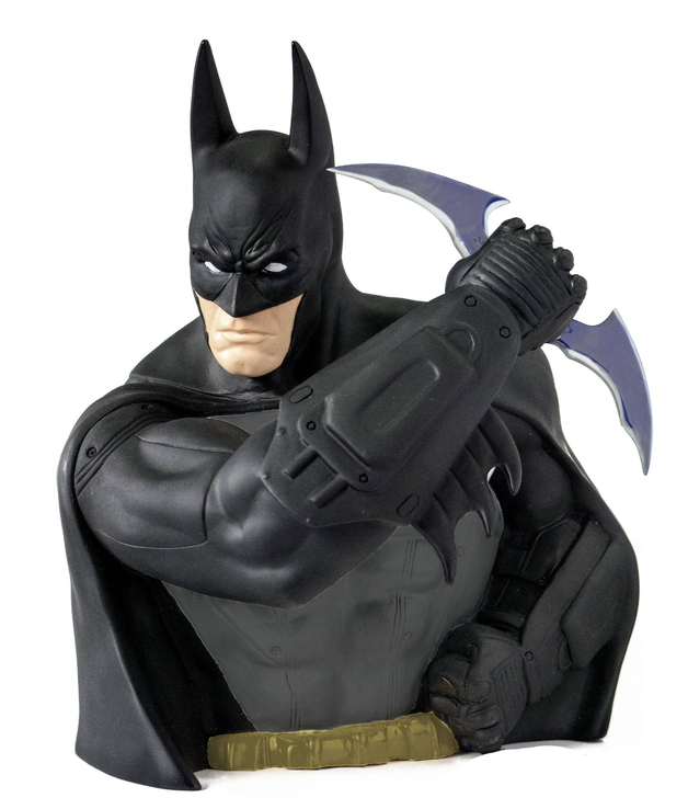 Batman Arkham Asylum Previews Exclusive Bust Bank