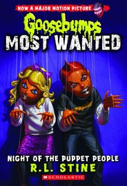 Night of the Puppet People (Goosebumps Most Wanted #8) by R.L. Stine image